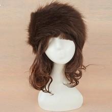 Promotion! good quality Faux fur hat Beanie hat cap ladies' headgear ski hat gift 5 Colors 10(China (Mainland))