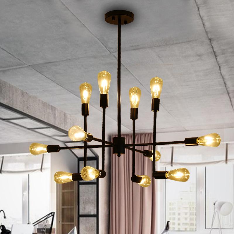 Industrial pendant lights loft retro lamp lampara vintage Lamp E27 copper light for living room bar cafe restaurant lighting(China (Mainland))