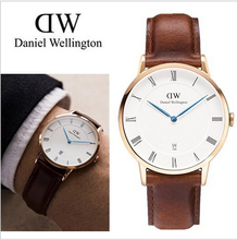 2015 Daniel Wellington Watches Men Leather Luxury Brand Dw Watches Business Watch Hombre Dress Watches Armbandsur Quartz Relojes