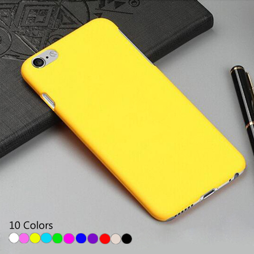 Cases For iPhone 7 Plus Super Slim Rubber Matte PC Hard Case Cover For iPhone SE 5s 6s plus Phone Bag For iPod Touch 6 Fundas(China (Mainland))