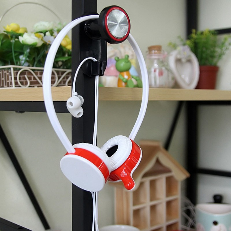 image for 2015 Hot Sale Beautiful Design Universal Earphone Headset Hanger Wall