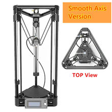 3D Printer DIY Kit Injection Kossel Mini 3D Printer Axis Smooth Rail 3D Printer