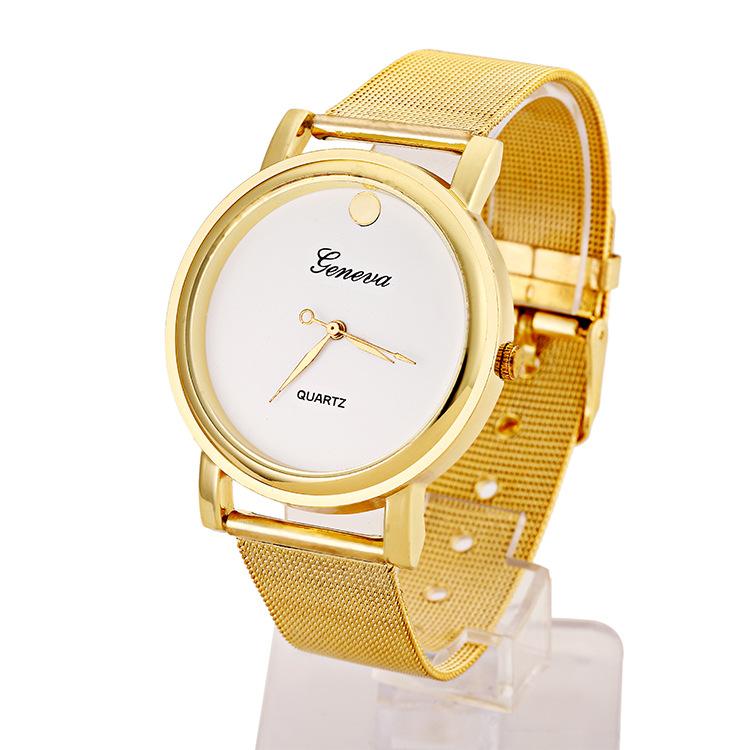 Style Fashion Quartz Casual Watch Women Dress Retro Design Steel Mesh Band Analog Wristwatch - Ustyle! Store store