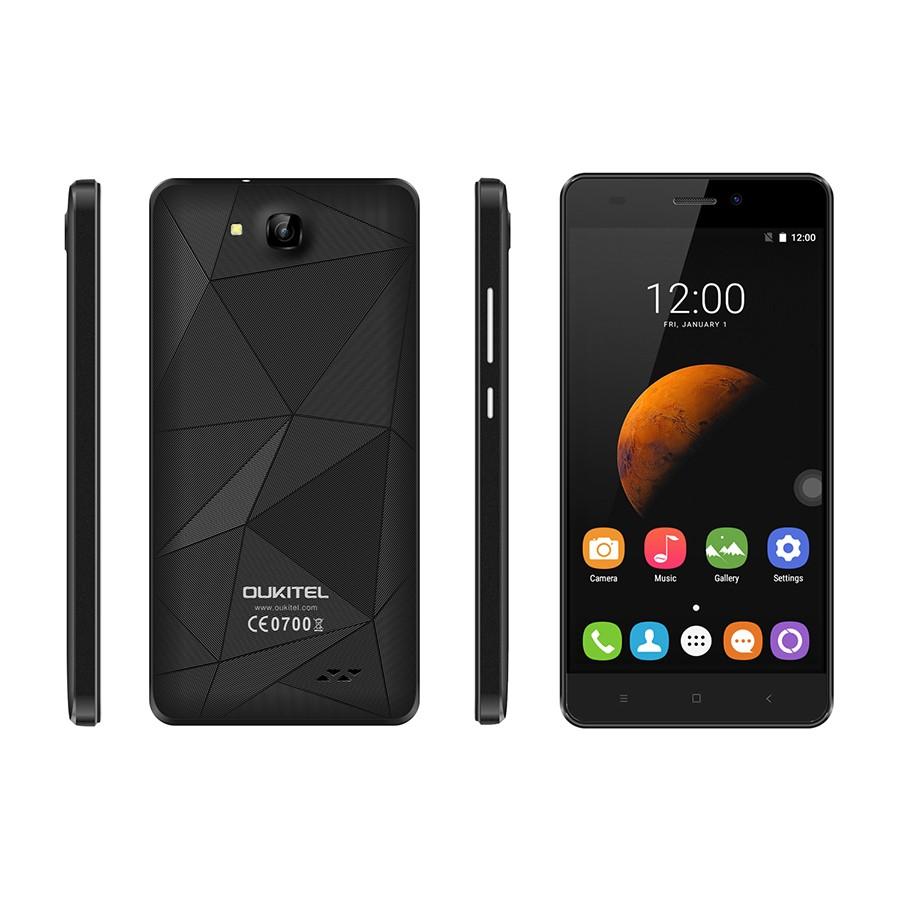 Original Oukitel C3 Mobile phone 5.0 inch 1280x720 Android 6.0 MT6580A 1G RAM 8G ROM Quad Core 1.3GHz 5.0MP Dual SIM Smartphone(China (Mainland))