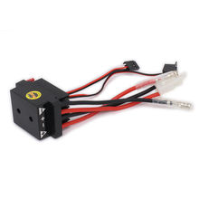 Buy 320A ESC brushed Electric Speed Controller High Voltage Waterproof RC Model Car/boat/airplane HSP Truck Buggy car for $12.07 in AliExpress store