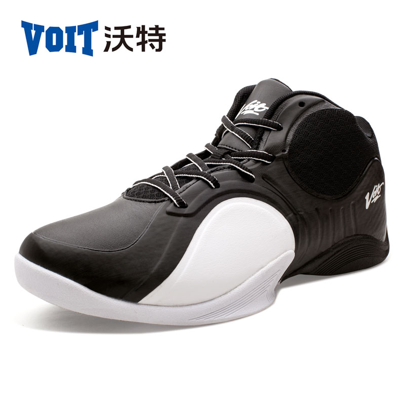 Voit High-Top Original Basketball Shoes Breathable Outdoor Sneakers Best Quality Wavy Grip Wear Non-slip Traning Shoes 51M6005(China (Mainland))