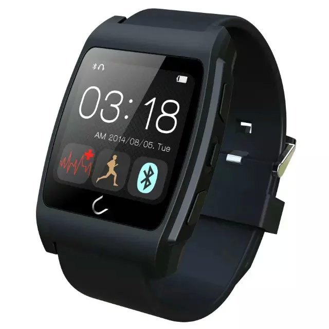 Uwatch UX Sport Bluetooth Heart Rate Monitor Smart Watch for IPhone ISO  Android With Compass Pedometer Connected Smartwatch<br><br>Aliexpress