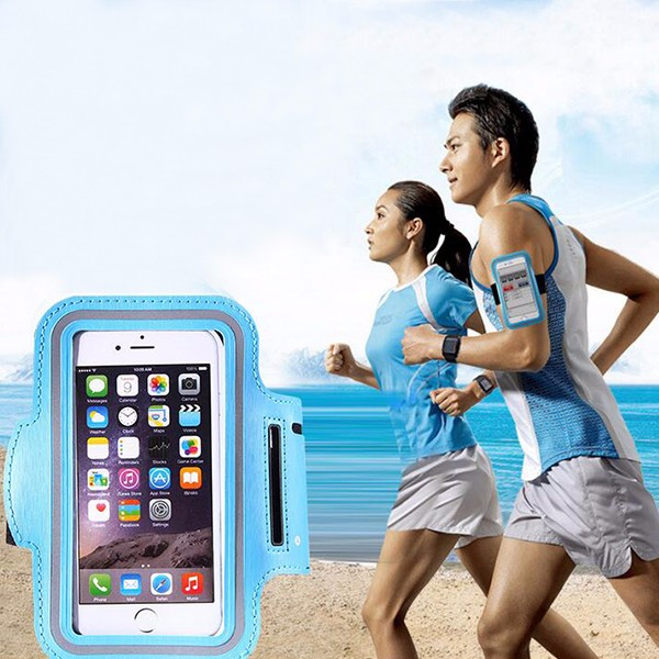 Universal Waterproof Shockproof Phone Holder Bags Outdoor Sport Running Jogging Arm Band Case Cover For iPhone 7 6 Plus 5S Size