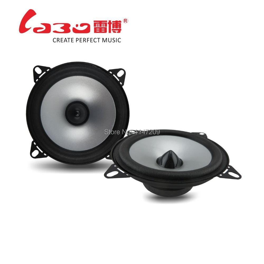 Tamehome 2015 1 Pair 4'' inch Car Speaker Automobile Automotive Car HIFI Full Range Bubble Gum Edge Speakers Free Shipping(China (Mainland))