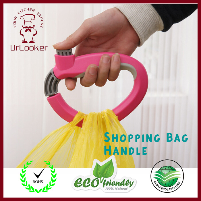 1 Pcs Shopping Bag Handle Creative new oversized loads retractable mention dishes device(China (Mainland))