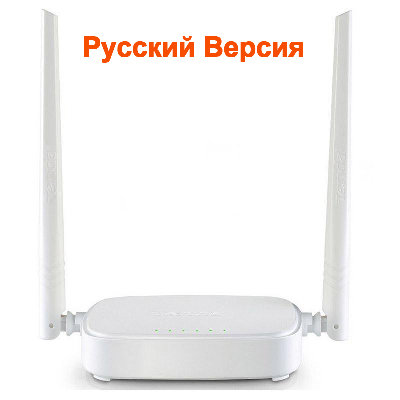 Russian Version Wireless WIFI Router WI-FI Repeater Booster Extender Home Network 802.11 b/g/n RJ45 4 Ports Tenda WI FI 300Mbps(China (Mainland))
