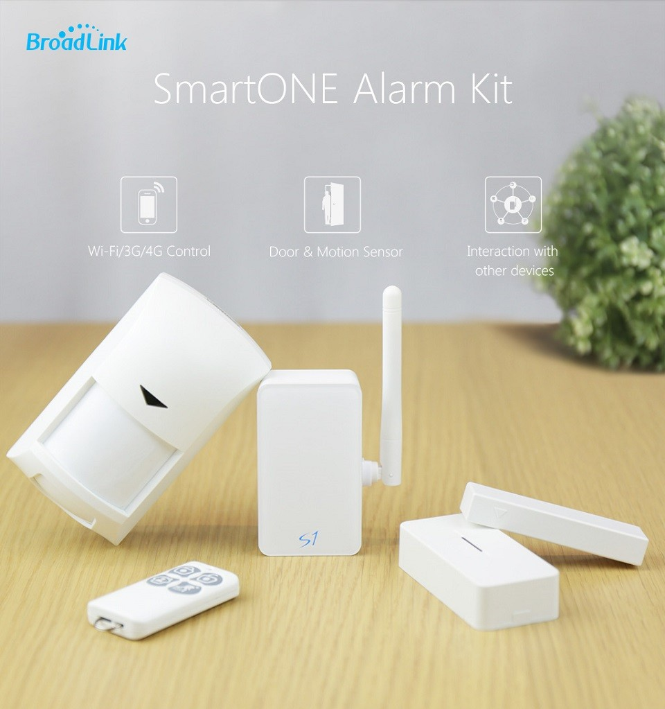 image for Broadlink S1C,Accessories,smart Home Automation System Security Alarm