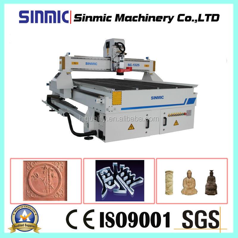 SINMIC cnc wood engraving machine CNC Router woodworking center 3d furniture sculpture wood carving cnc router machine(China (Mainland))