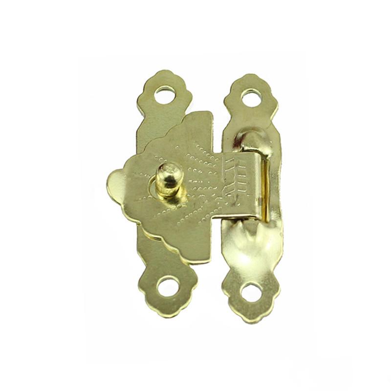 Antique-Iron-Jewelry-Box-Padlock-Hasp-Locked-Wooden-Wine-Gift-Box-Handbag-Buckle-Hardware-Accessories-Yellow (2)