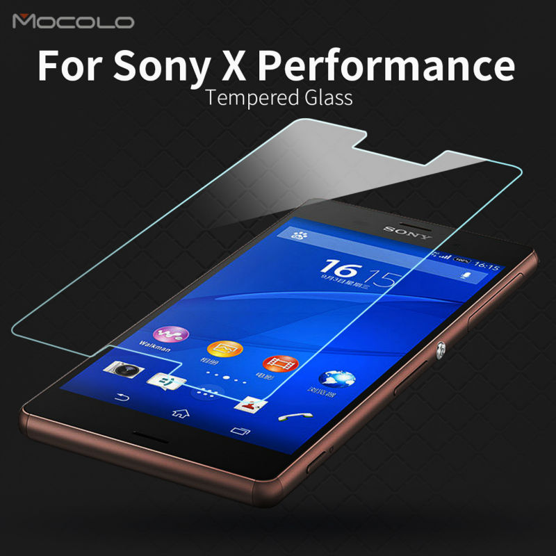 Tempered Glass Screen Protector for Sony X Performance with Retail Packaging 0.33mm 2.5D for X Performance Premium Film(China (Mainland))