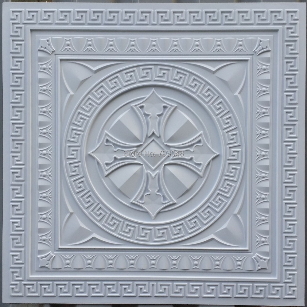 Buy Pl01 Faux Tin Artistic Decorative Ceiling Tiles 3d Embossed Backsplash