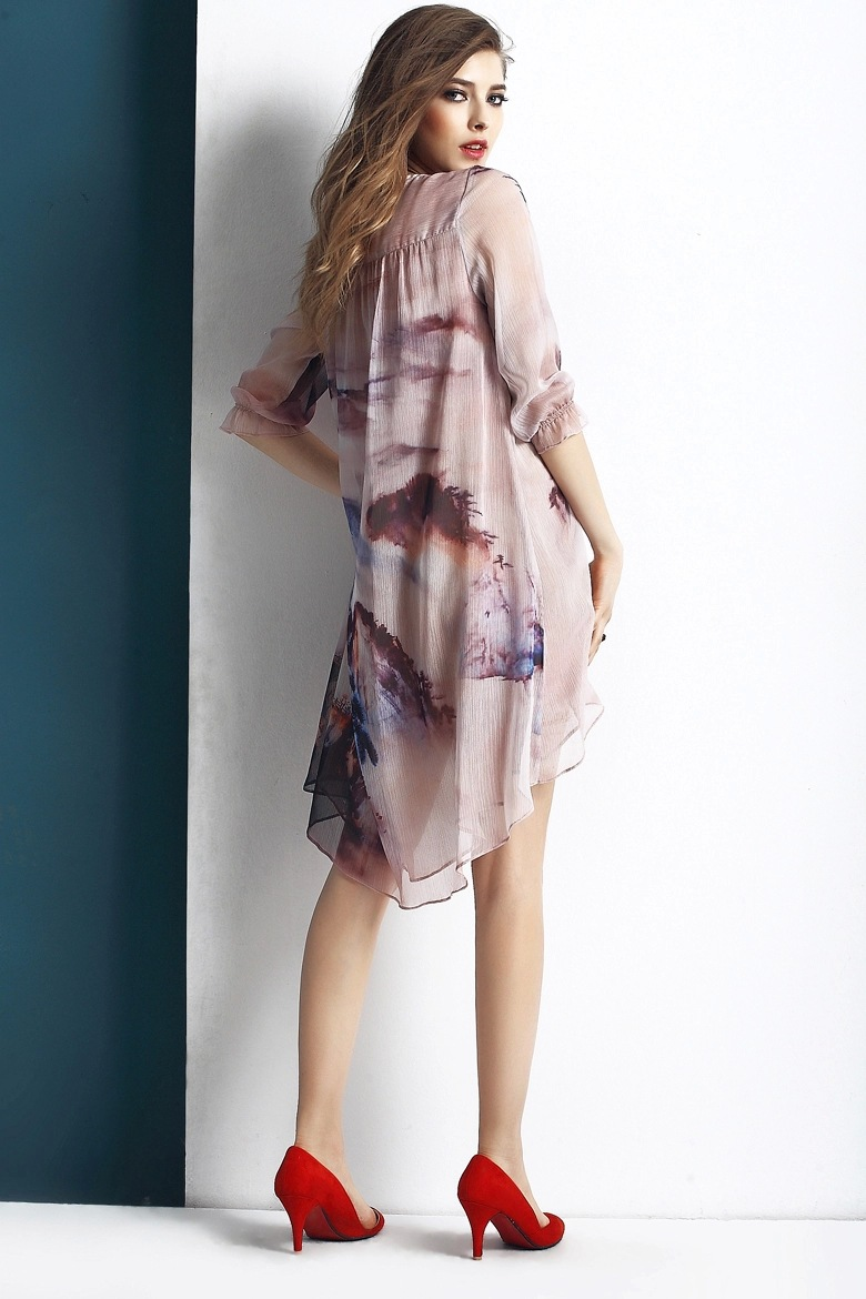 Casual Silk Dresses