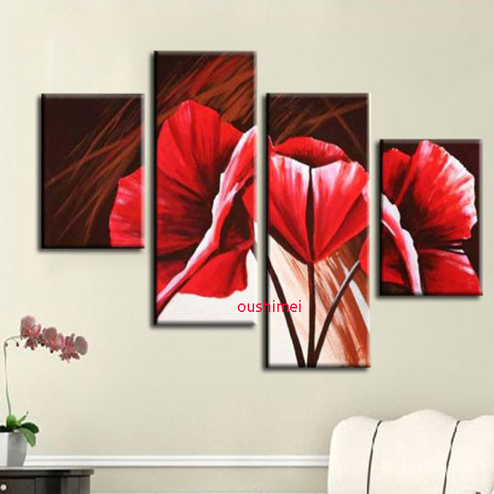 Modern canvas painting designs
