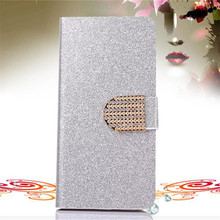 Buy Bling Rhinestone PU Leather Case Sony Xperia Z3+ Z4 E6553 / Z3 Plus dual E6533 Cover Original Flip Stand Wallet Phone Coque for $3.63 in AliExpress store