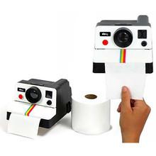1 Piece Vintage Retro Camera Shape Toilet Roll Paper Dispenser Plastic Bathroom Paper Tissue Storage Box Holder(China (Mainland))