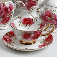 15 ceramic coffee set d Angleterre fashion bone china tea set coffee cup pot dish gift