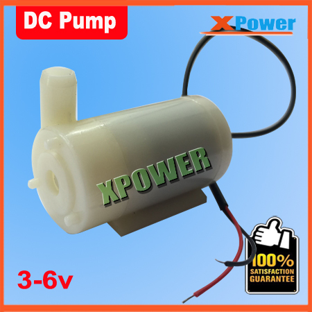 Free Shipping Hot Sales Mini Pump Micro Submersible Motor Pump Water Pumps 5v DC 3-6V 120L/H Low(China (Mainland))