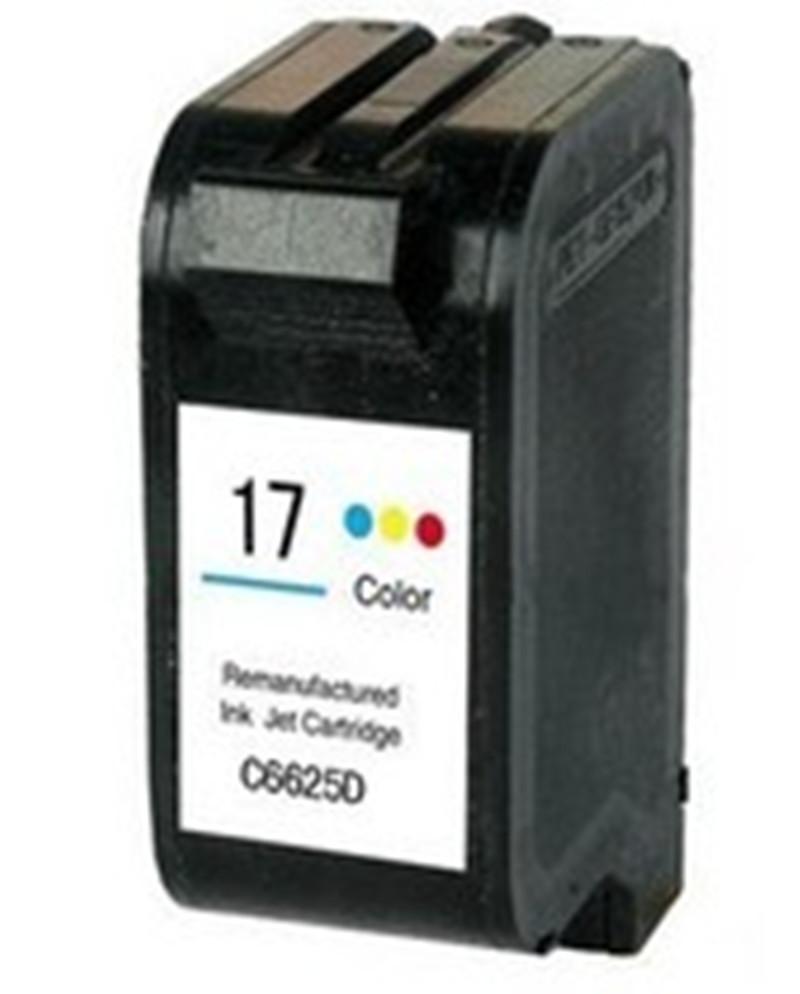 Ink Cartride For HP 17 hp17 hp17xl  Color ink Cartridge For HP DeskJet  840 842 843 845c 840c 2110 7550 2110 3325 5550 printer<br><br>Aliexpress