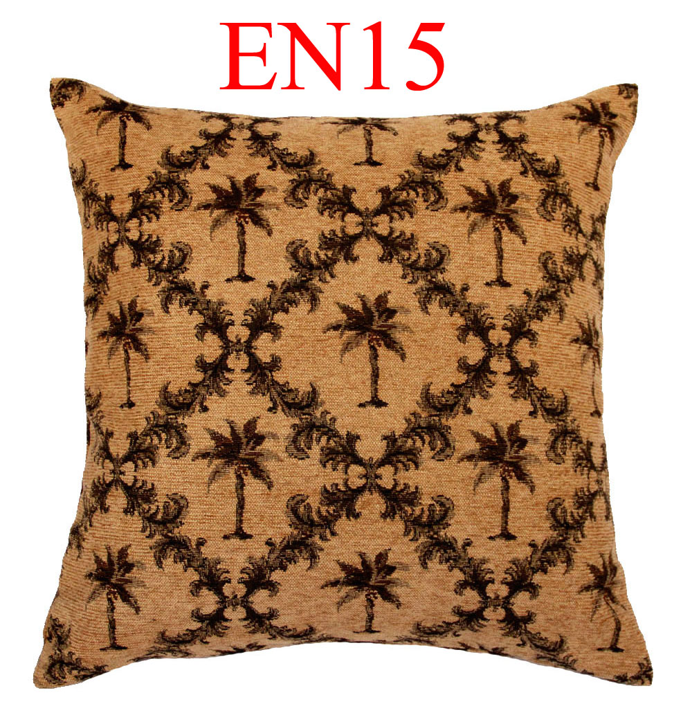 EN15 EN16 Ivory Green Brown Yellow Linen Blending Cotton Cushion Cover Pillow Case Throw Sofa Home Decor ( custom made ) - Moses DaBenGou Co., LTD Christ is the answer store