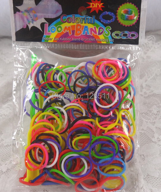 Baby Girl hair bands Mix colors 1 bags small elastic rubber rope fashion toys accessories - Top 126511 store