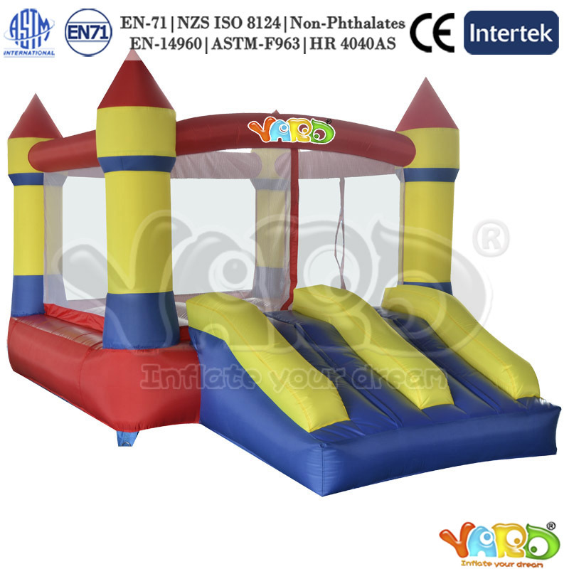 Backyard mini jumping castle inflatable bouncer bounce house moonwalk(China (Mainland))