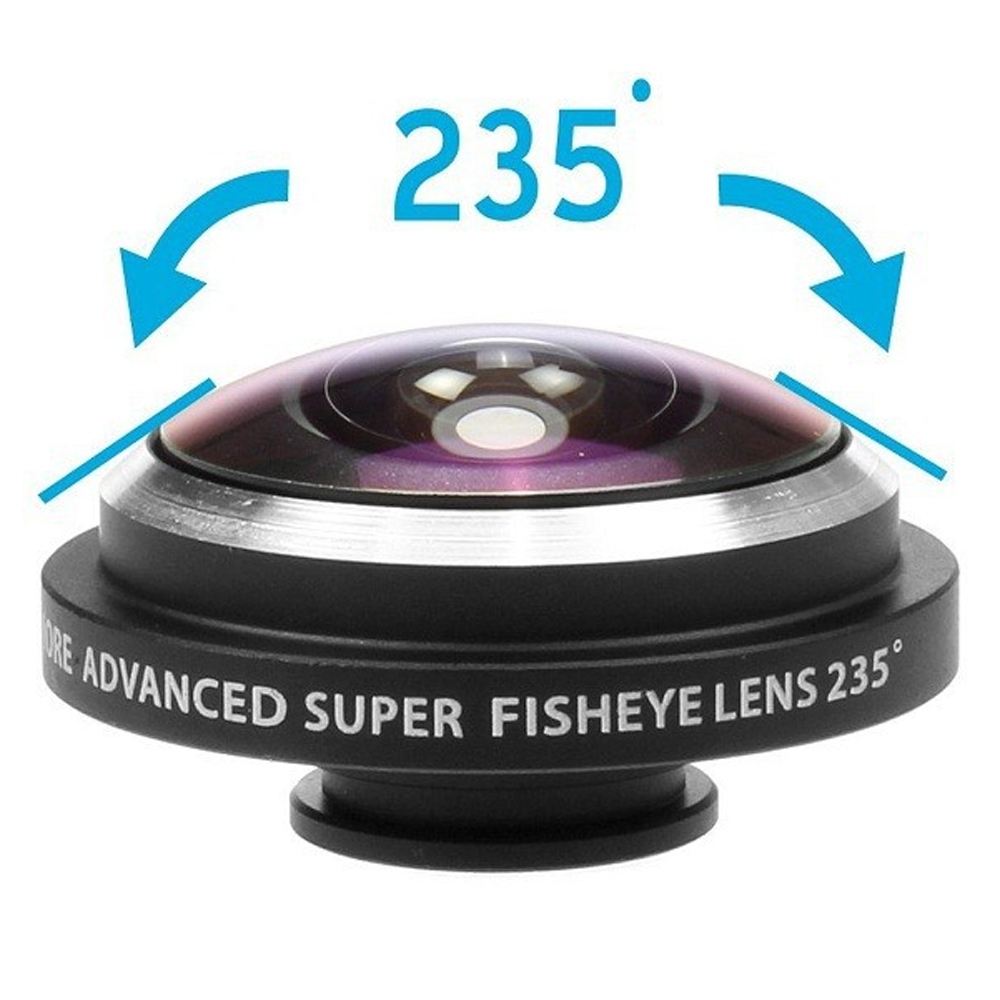 Universal Detachable Clip 235 Degree Super Fisheye Fish Eye Camera Lens iPhone 4S 5S 5 6 6+ Samsung Sony HTC Smartphones - Mypleasure Trading Limited store