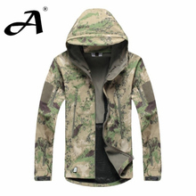 Army Camouflage Coat Military Jacket Waterproof Windbreaker Raincoat Hunting Clothes Army Jacket Men Outdoor Jackets And Coats(China (Mainland))