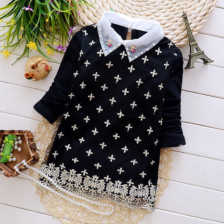 2015 fashion girl turn down collar thick t shirt brand for Thick t shirts brands