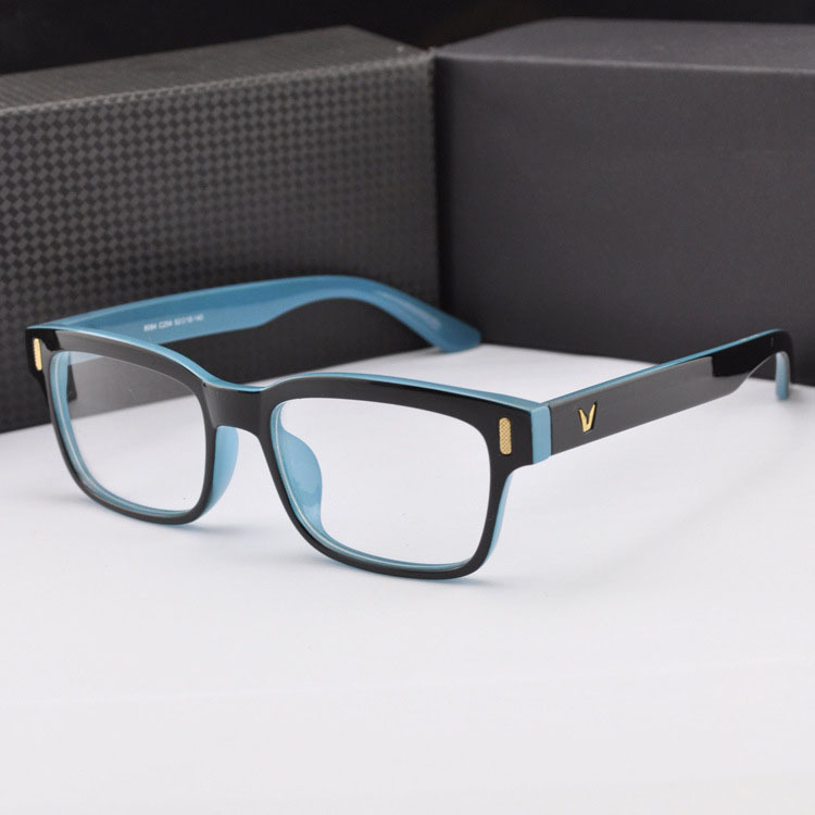 V-Shaped eyeglasses women spectacle frames men optical glasses fashion eyeglasses frame glasses myopia glasses oculos de grau(China (Mainland))