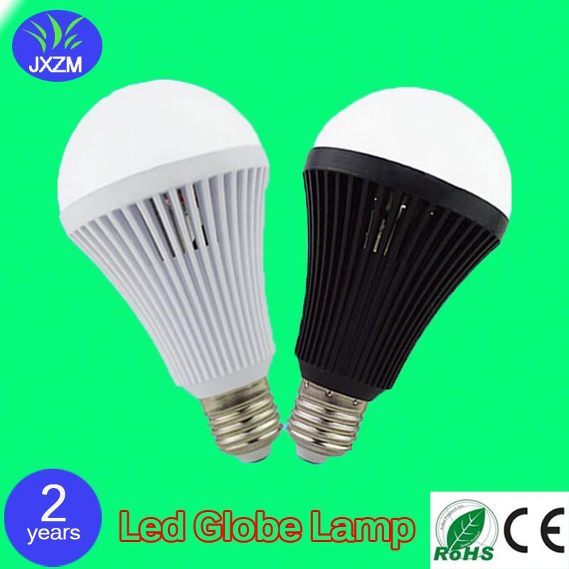 100pcs Factory Direct 5W E27 B22 AC220V LED emergency bulb led bulb plastic intelligent charging emergency power Bulb(China (Mainland))