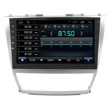 Для Quad core Автомобиль радио gps для Toyota Camry 2008 Года с Встроенный Wi-Fi/Зеркало ссылка/FM/AM радио/Bluetooth/GPS Navi/USB/SD/AUX/SWC