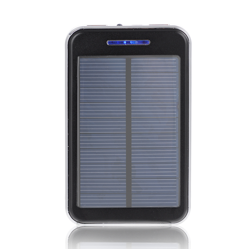 16000mah solar panel charger power bank portable dual usb charger backup external battery pack. Black Bedroom Furniture Sets. Home Design Ideas
