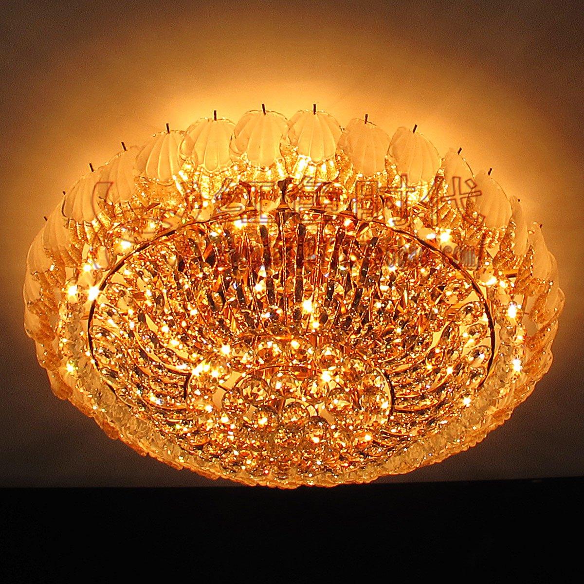 Online kopen wholesale big lighting lamp crystal modern uit china ...