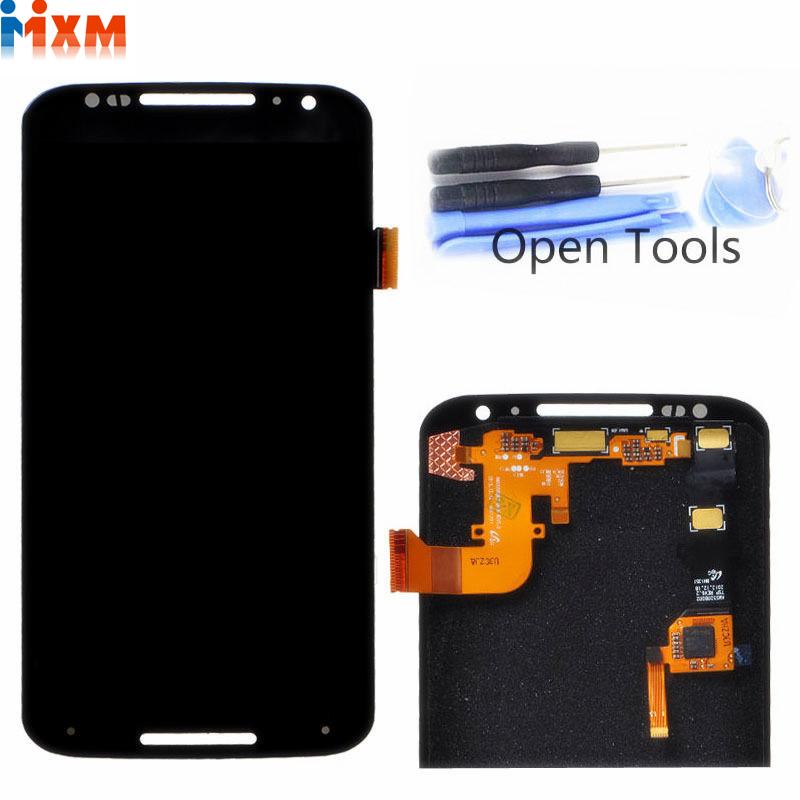 100% Test Black For Motorola For MOTO X+1 X2 XT1092 XT1095 XT1096 XT1097 LCD Screen Display Touch Digitizer Assembly +Tools