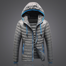 2016 Winter Brand Jacket Men outdoor coat Light Down Jackets Headphone models Hood Clothing Waterproof Parka velvet homme