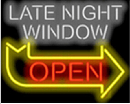 2015 Late Night Window Open Shop Neon Sign Commercial Custom Avize Outdoor Nikke Air Jorrdan Neon Signs Glass Tube Handicraft 17(China (Mainland))