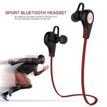 Wireless Bluetooth Sports Stereo Sport Running Earphone With Mic Five Colors Strong Bass headset bluetooth
