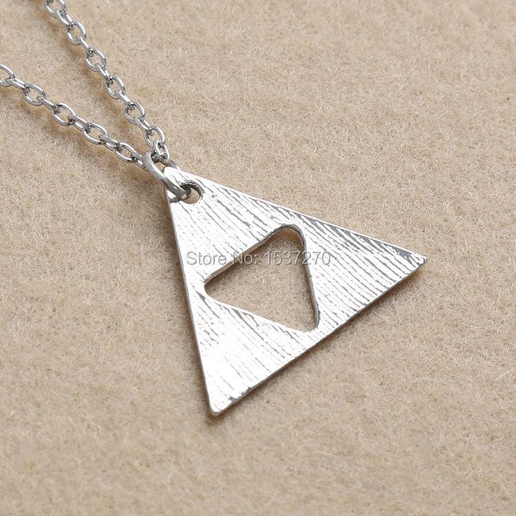 Triforce Necklace Pendant Zelda Triforce Necklace