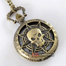 Gothic Hollow skeleton Pocket Watch