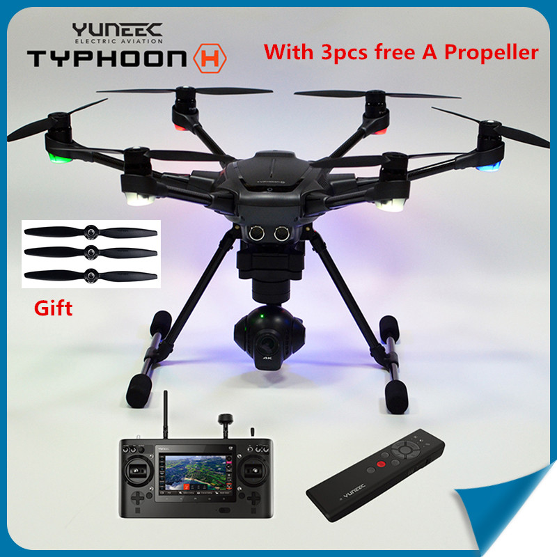 (In Store)Original Yuneec Typhoon H 480 RC Helicopter Drone with Camera HD 4K RTF 3-Axis 360 Rotation Gimbal Touchscreen(China (Mainland))