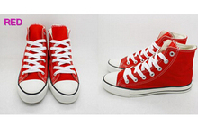 New children canvas shoes fashion high - low shoes boys and girls  shoes  children shoes(China (Mainland))