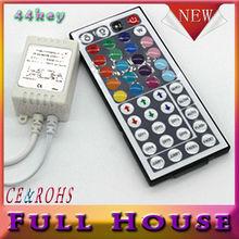 44 ключей из светодиодов ик гамма контроллер для RGB SMD 3528 5050 из светодиодов полосы из светодиодов огни контроллер ик пульт дистанционного диммер входное DC12V 6A бесплатная доставка