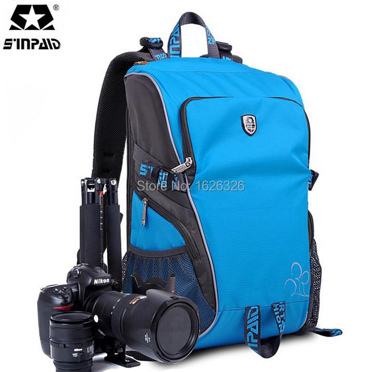 2015NEW SLR DSLR camera Bag Backpack Photo Bags for Nikon Canon Sony D60 D700 D7000 D80 D600 D3X D40X D5000 D3 Camera Backpack(China (Mainland))