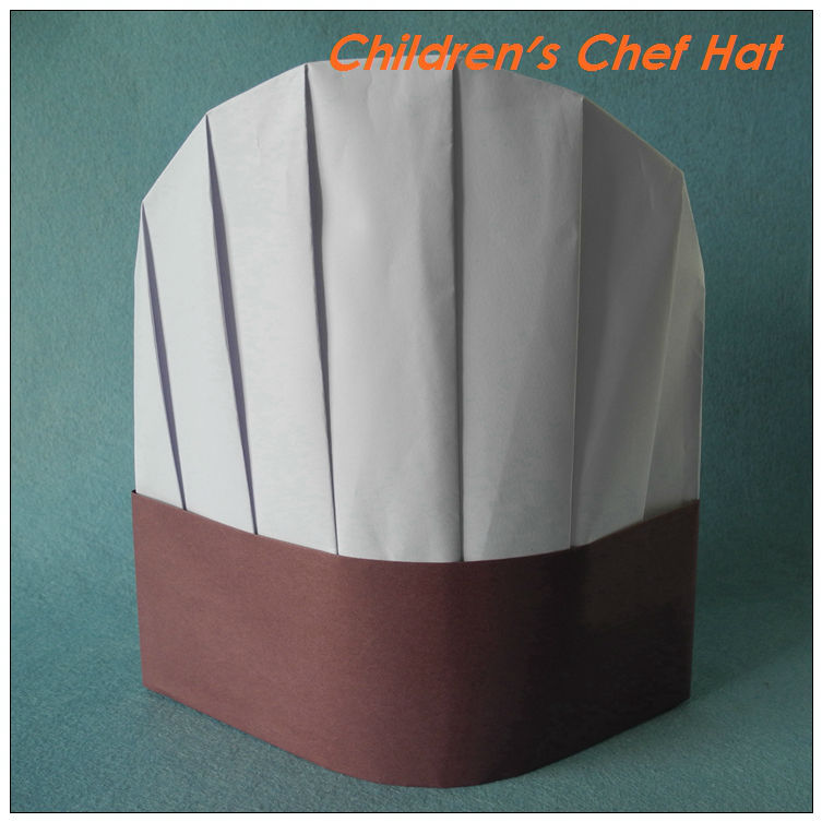The gallery for paper chef hat pattern for Paper chef hat craft