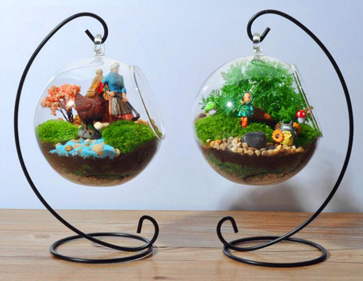 M s nuevos colgantes de cristal del florero planter for Decoracion de jardin con jarrones